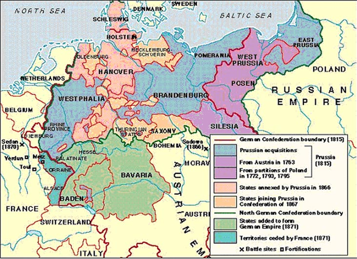 The Unification Of Germany 1864 1871