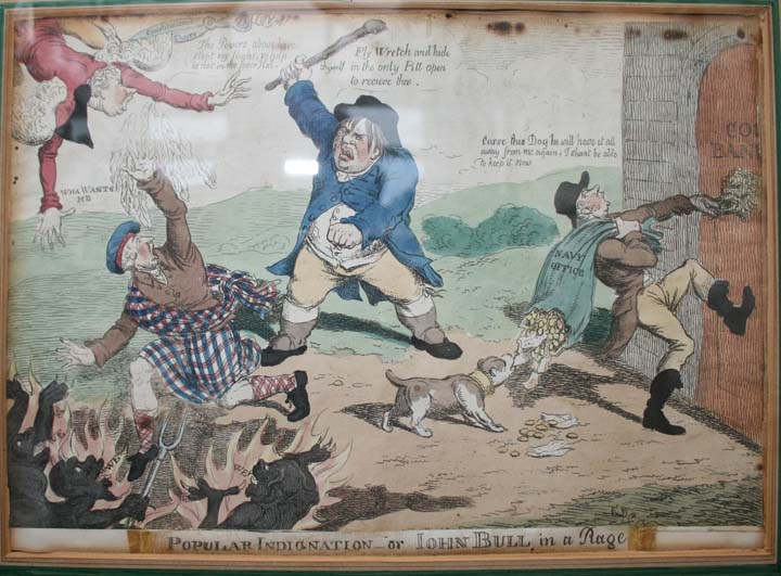 Popular indignation - or - John Bull in a Rage
